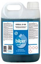 Krisul S-100  Limpiasuelos con bioalcohol con desengrasante incorporado  5L.