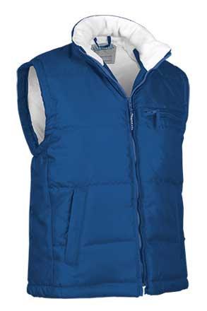 Chaleco de abrigo tejido oxford hidrofugado relleno acolchado
