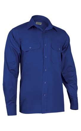 Camisa en tejido sarga grueso 100% algodón