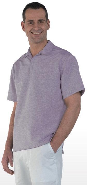 Casaca de hombre Ibiza Purple Spotted 100% Microfibra.