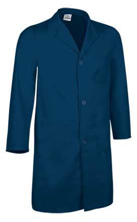 Bata manga larga tejido sarga 65%poliéster 35% algodón