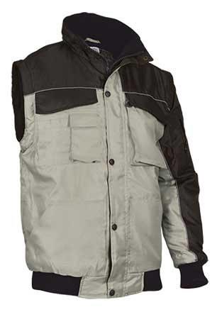 Cazadora de abrigo 2 en 1 tejido oxford