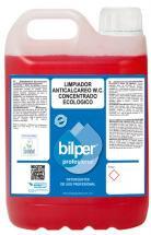 Detergente anticalcareo Limpieza W.C.concentrado ecológico 5 Litros.