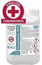 Hospimedic BP4 desinfectante concentrado de superficie y utillaje 5L