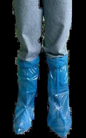 Cubrebotas bajo Polietileno azul .Caja 2.000 unidades