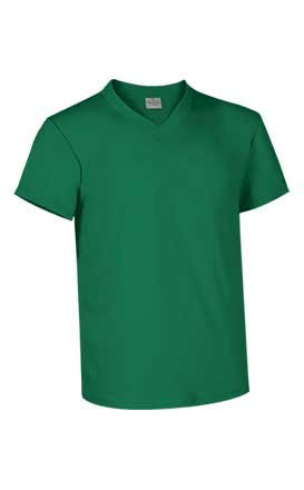 Camiseta Sun, cuello de pico (8 colores)