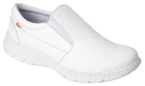 Zapato microfibrana técnica. Blanco o azul.