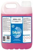 Krisul S-50 Floral  Limpiasuelos neutro con bioalcohol de aroma Floral  5 L.