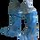 Thumbnail: Cubrebotas bajo Polietileno azul .Caja 2.000 unidades