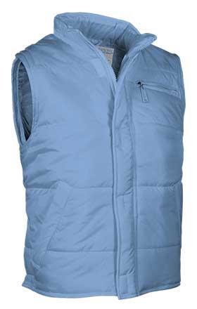 Chaleco de abrigo tejido nylon hidrofugado relleno acolchado