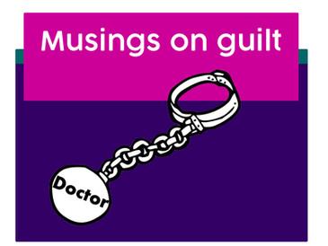 Musings on guilt