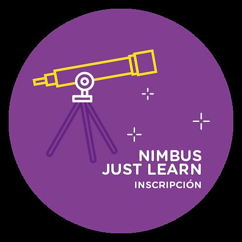 Nimbus Just Learn - Inscripción