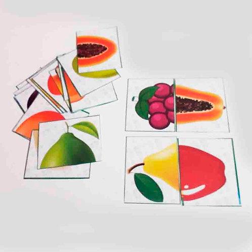 Salada com duas frutas