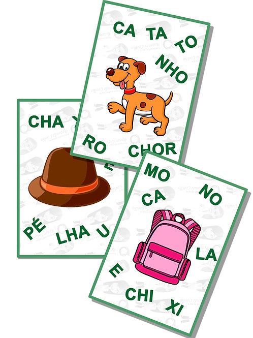 Manipulando sílabas e formando palavras (CH, LH)