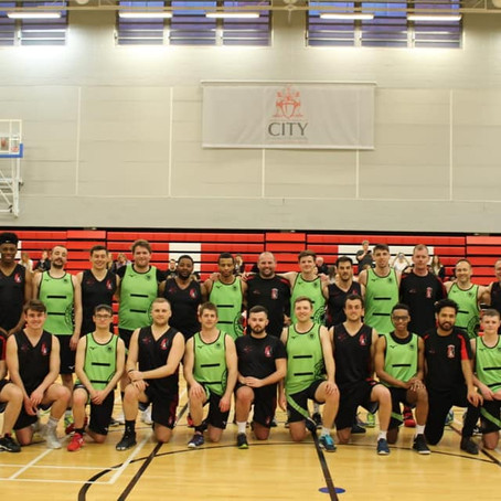NT1 vs Knights 2 - First UK Men's Netball Exhibition Game