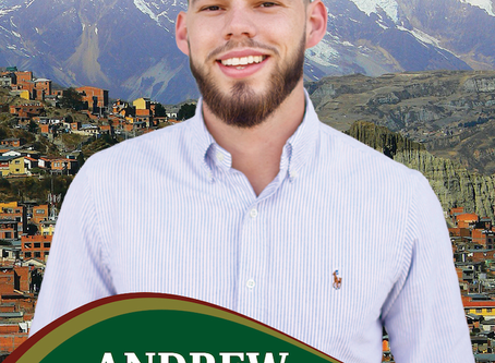 Andrew Wilder Sept. 2020 Prayer Letter