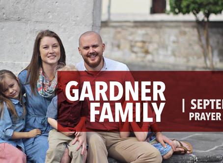 Gardner family - Sept 2020 Prayer Letter