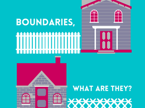 Boundaries: What are they?