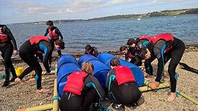 raft building, kayaking, Cork, Ireland, Eco adventures