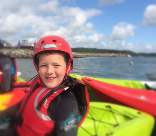 Kayaking, smiles, Cork, Ireland