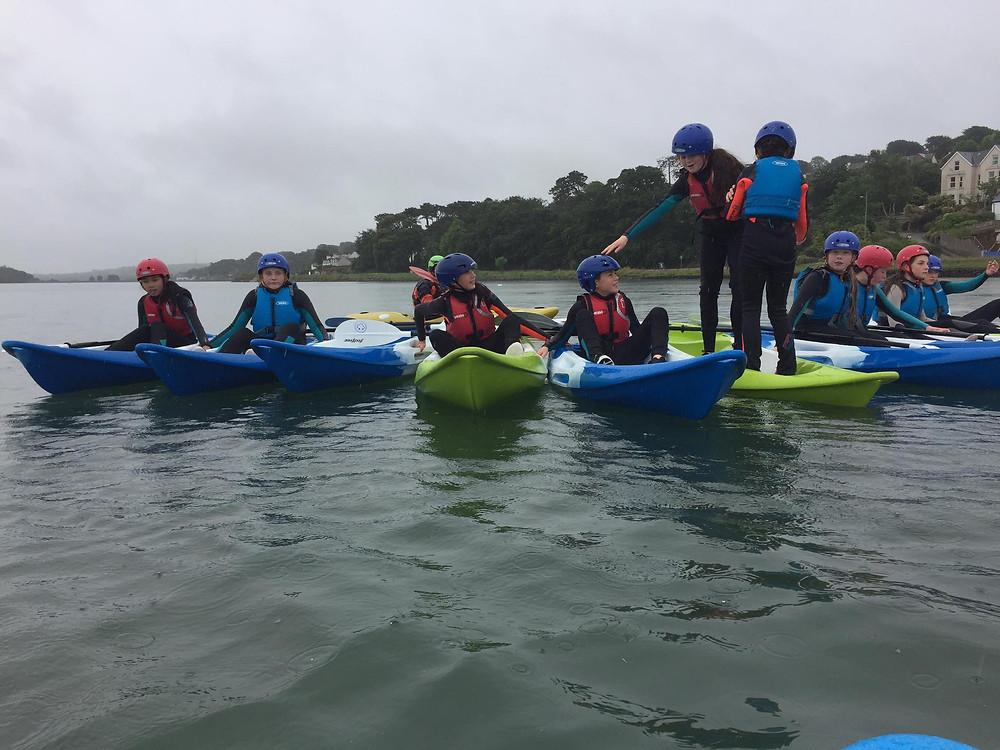 Super fun kayaking session