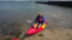 adult kayaking cork