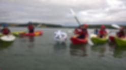 kids kayaking,Cork, Ireland