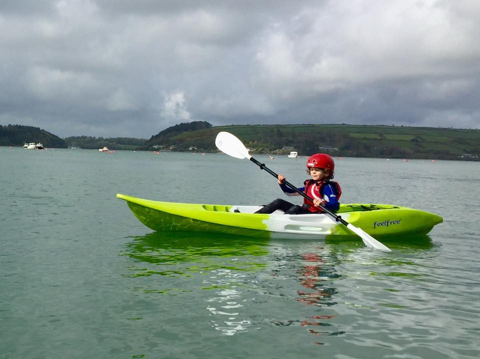 Kayaking in Cork