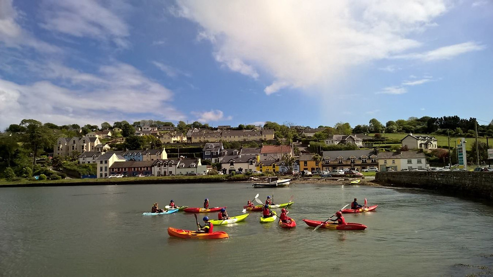 Kayaking in Cork harbour