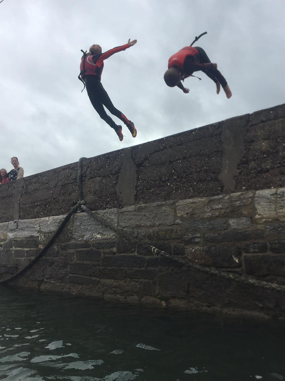 Some more great pier jumping at Aghada Pier