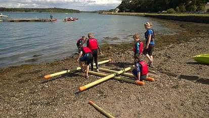 raft building, cork, Ireland
