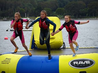 Water Trampoline, Aghada, East Cork, Ireland