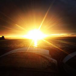 sunset aghada