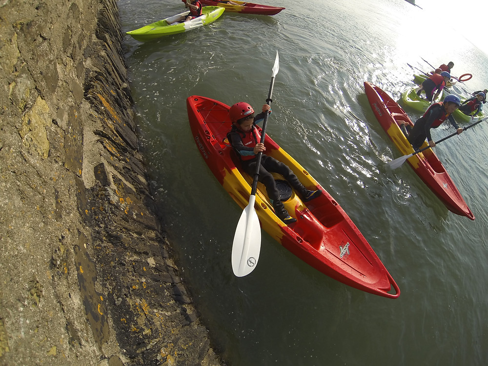 Flickr - Kayak games at Aghada Pier, Cork Harbour