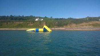 water trampoline cork