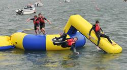 ECO Island - water trampoline