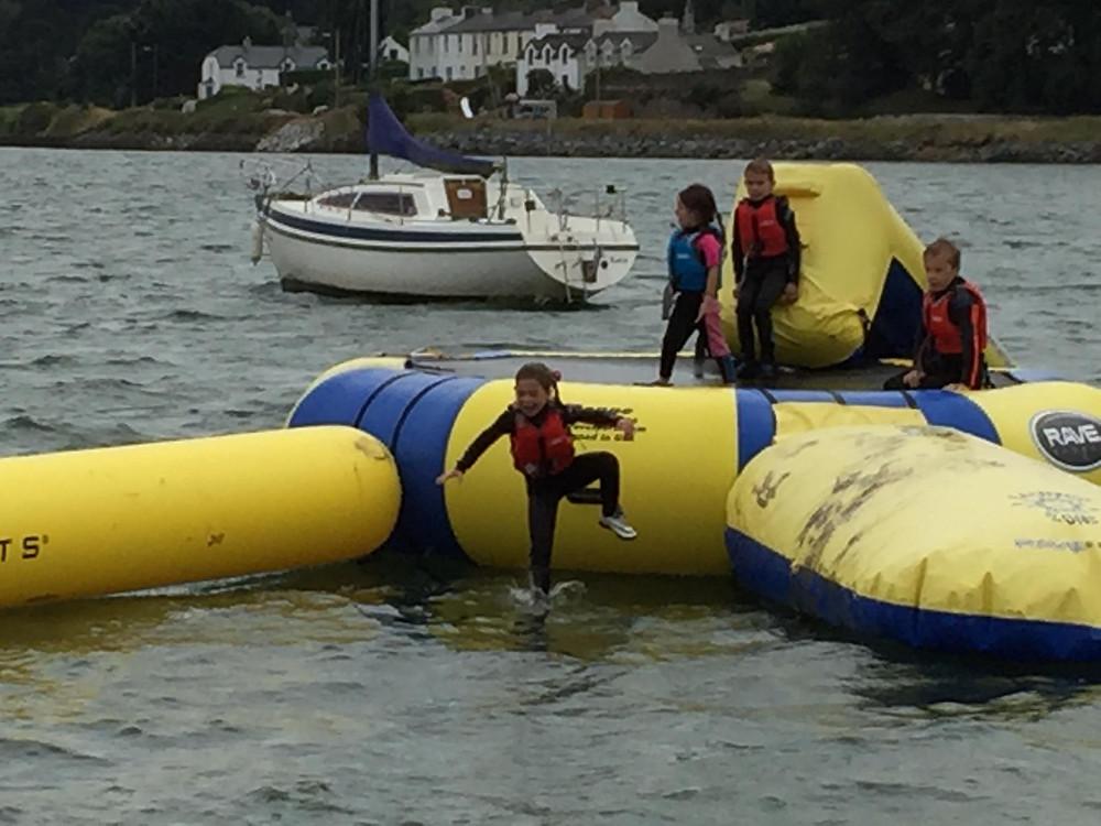 Great fun on the ECO Island