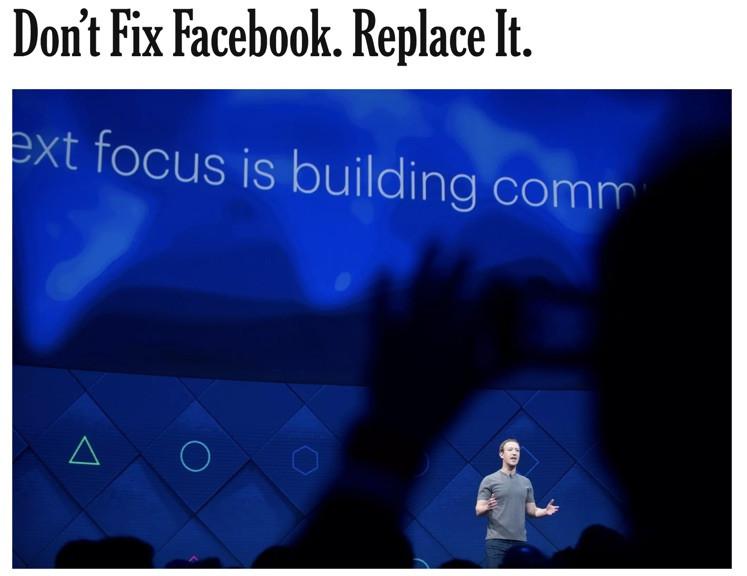 The Facebook C.E.O., Mark Zuckerberg, at the company's annual 2017 F8 Developer Conference in San Jose, Calif.CreditNoah Berger/Associated Press