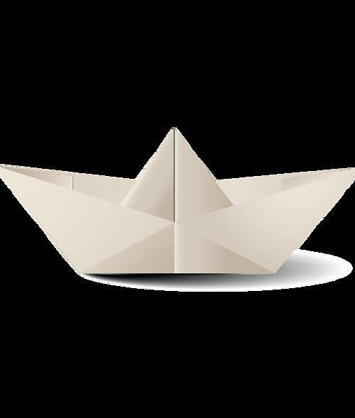 Papieren boot