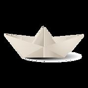 Paper Boat to float Sadye's ark