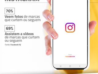 Instagram: 70% acompanham postagens de empresas