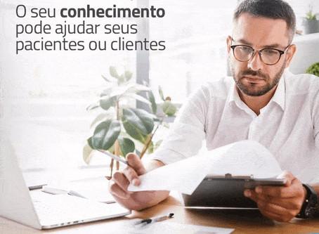 Compartilhe seu conhecimento com seus clientes
