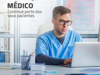 Médico, continue perto dos seus pacientes