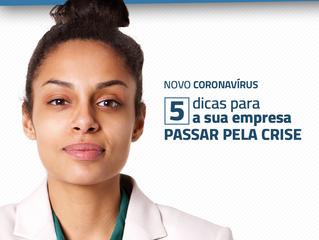 Novo coronavírus: 5 dicas para sua empresa passar pela crise