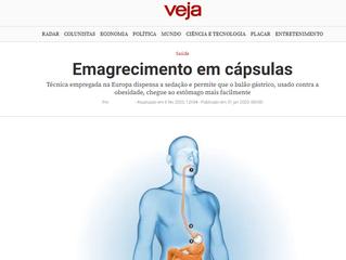 Dr. Luiz Vicente Berti fala sobre balão gástrico na Veja