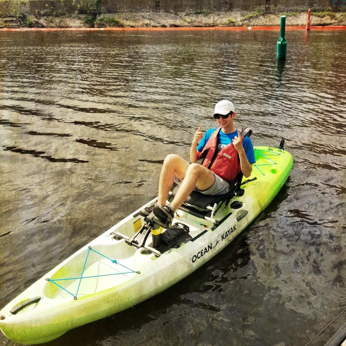 PK - Pedal Kayak  (1/2hr)