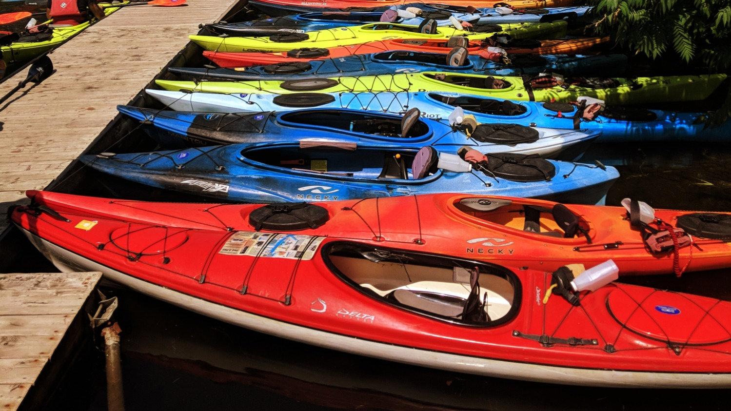 SK - Sea Kayak - solo (1/2hr)
