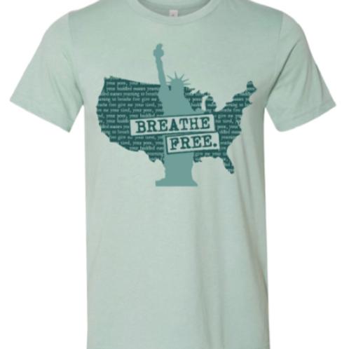 BFI Lady Liberty Unisex Short Sleeve Jersey Tee