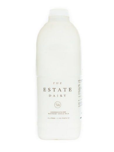Estate Dairy Unhomogenised Farm Milk (2L)