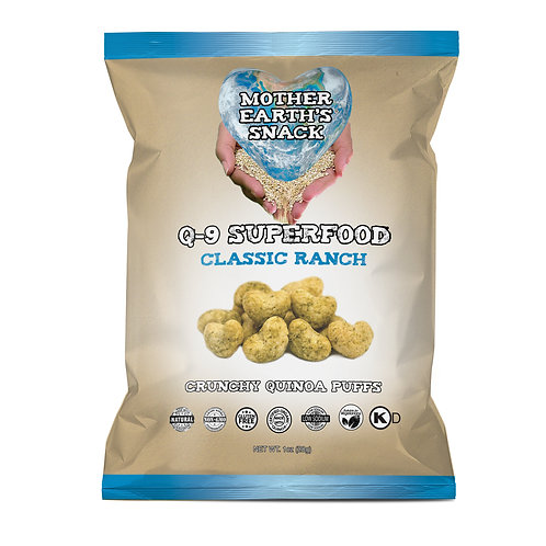 Q-9 SuperFood Ranch Puffs (6 in a pack)